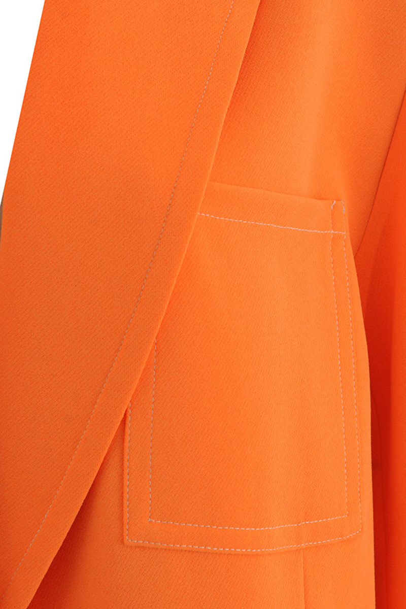 orange mainstream jacket