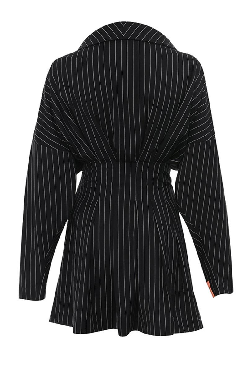 make it quick dress in black