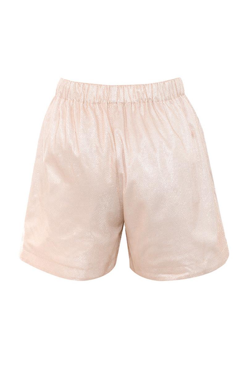 marvel shorts in blush