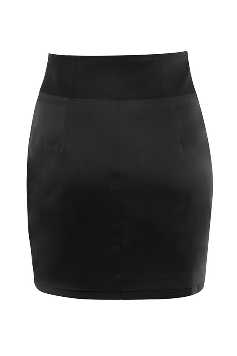 my type skirt in black