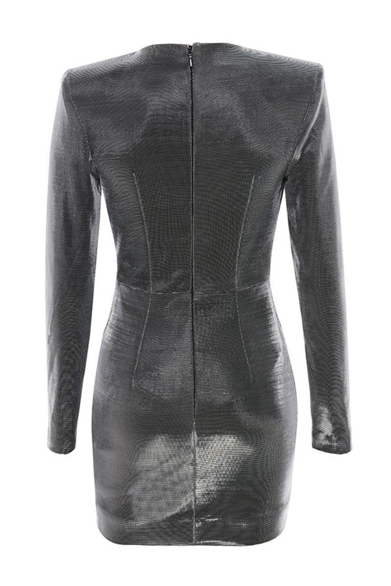 origin dress in grey