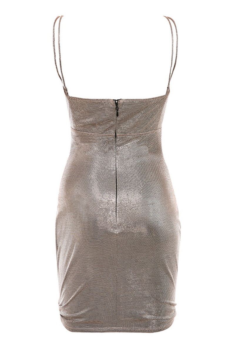 scheme dress in grey
