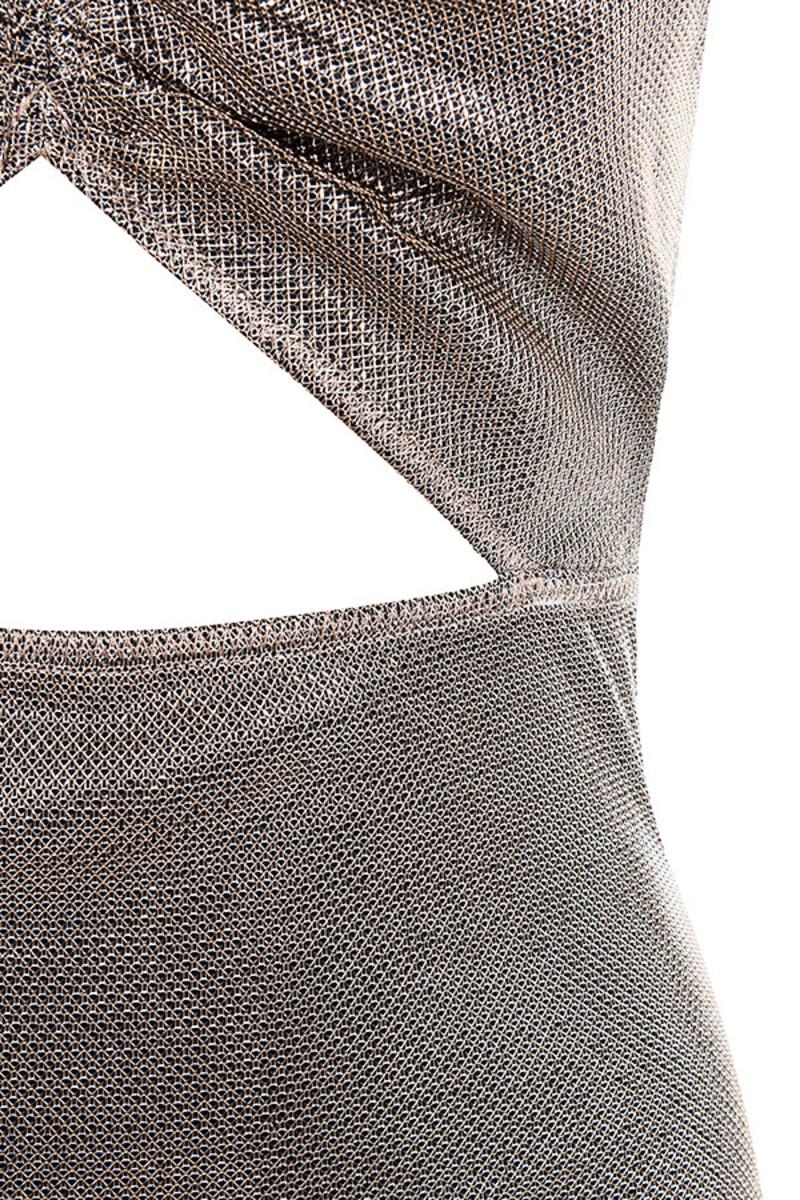 grey scheme dress