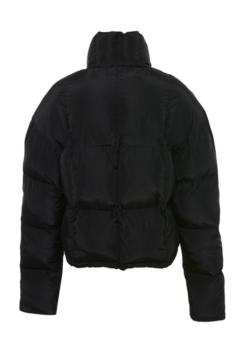 slalom jacket in black