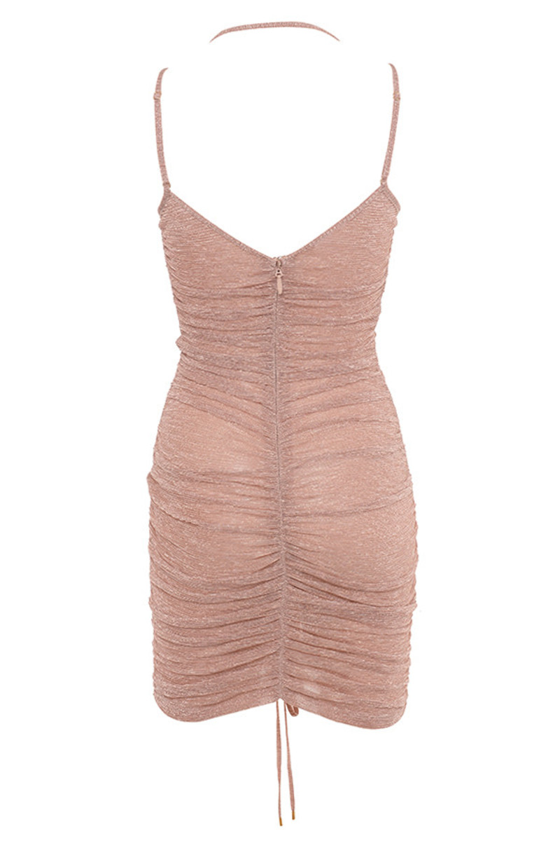 sweet spot dress in nude