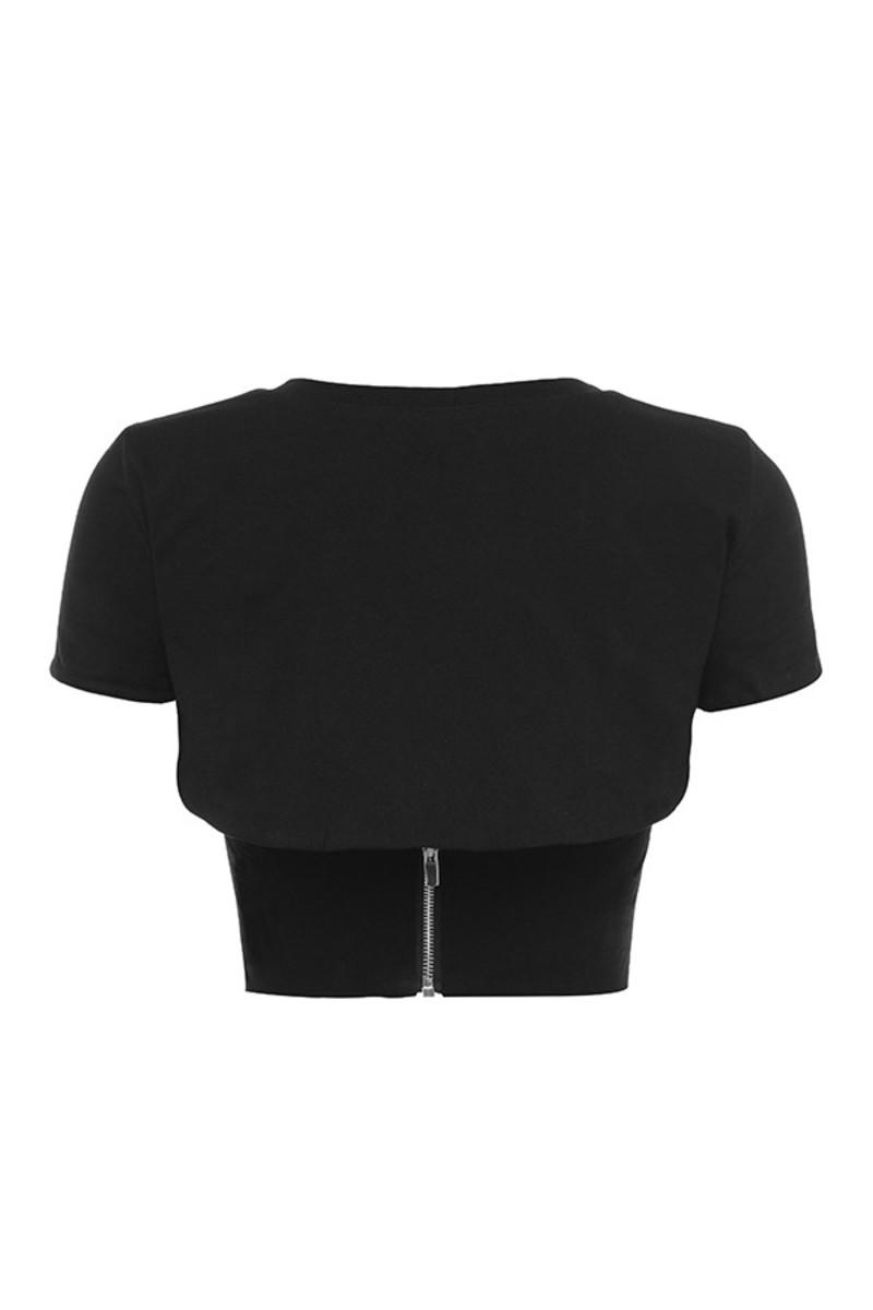 transmission top in black