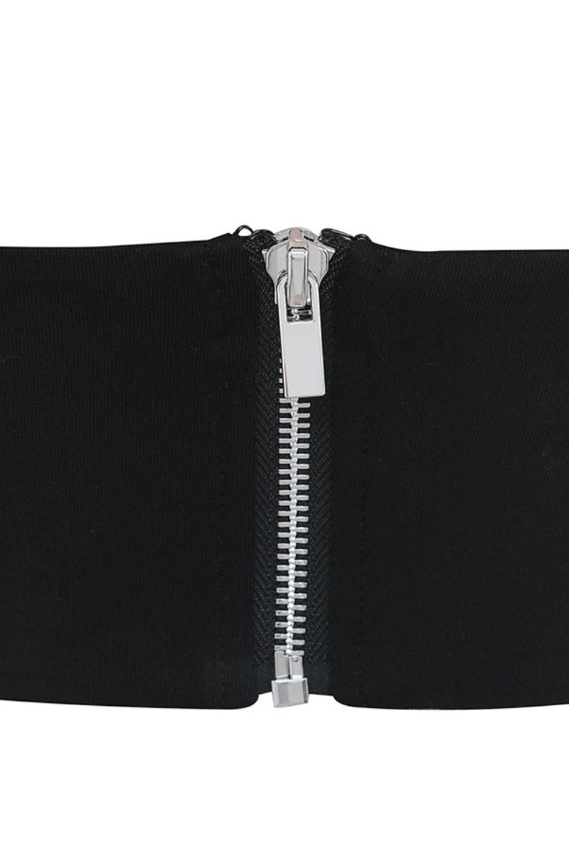black transmission top