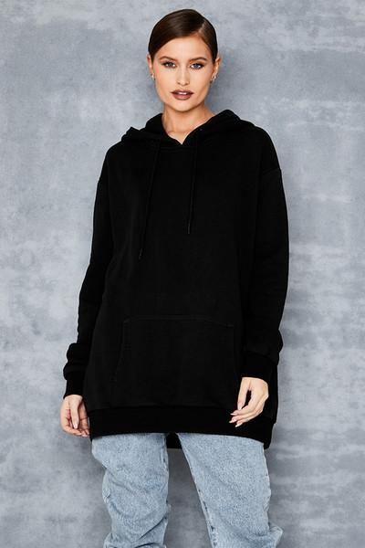 Complicated Black Branded Hoodie