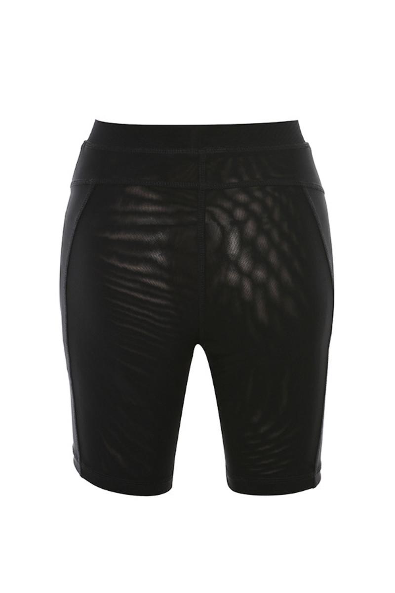 avenger shorts in black