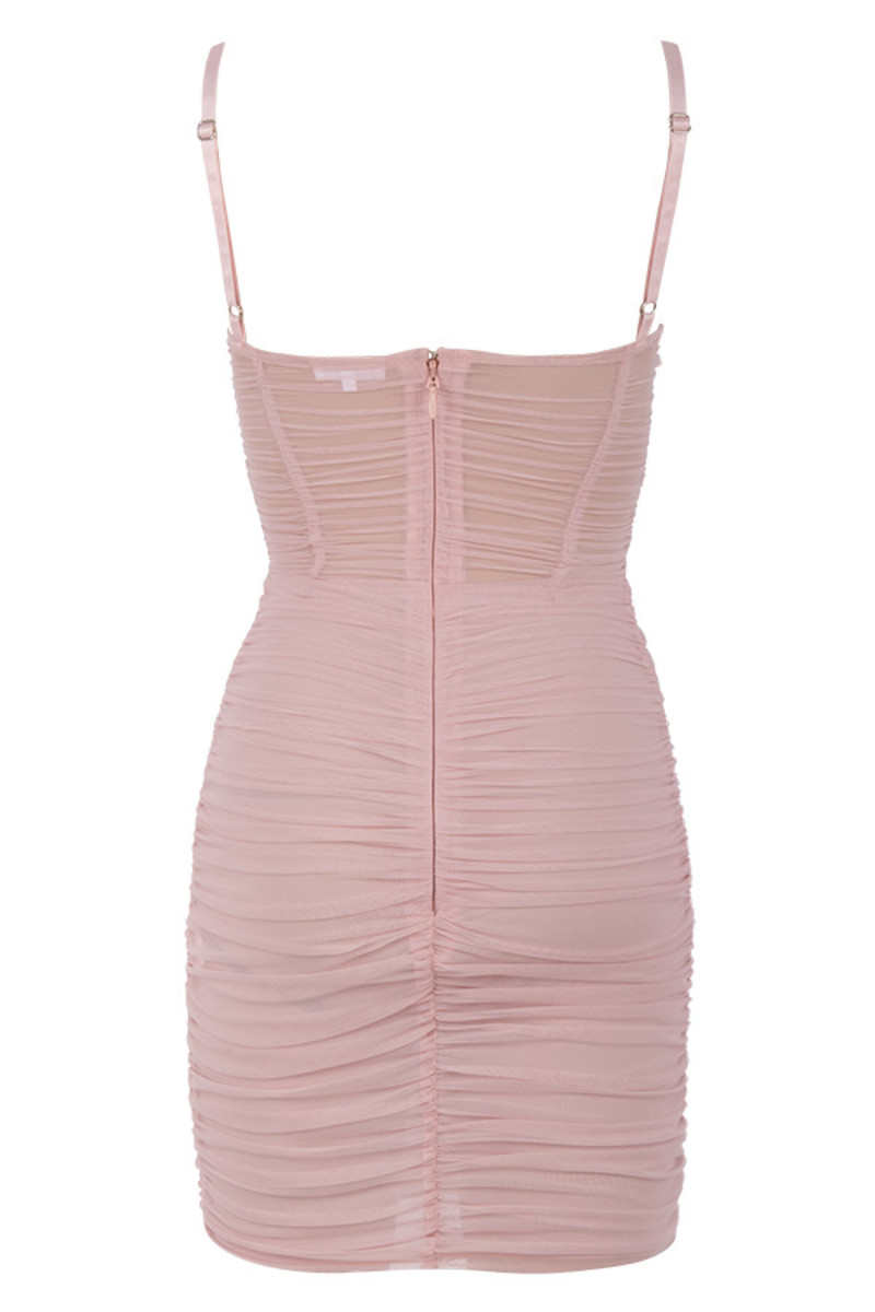 good life dress in pink