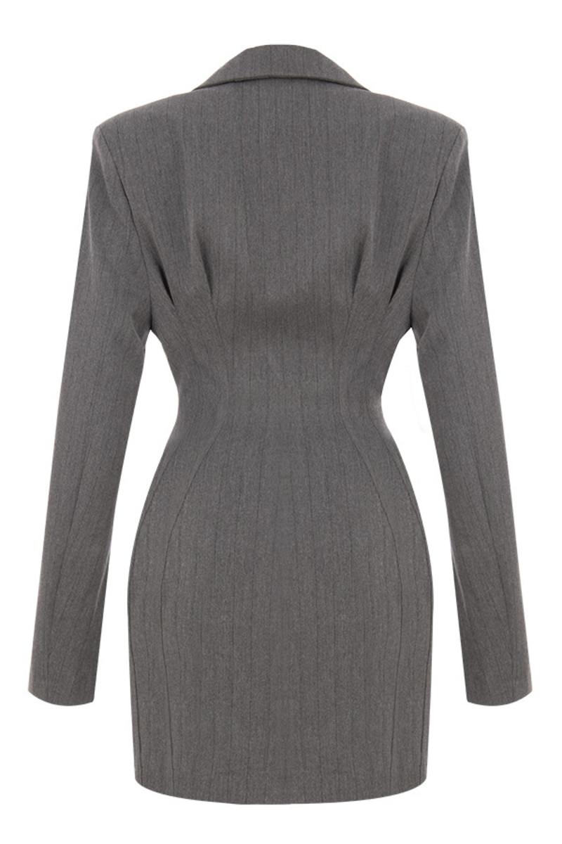 wanna dance jacket in grey