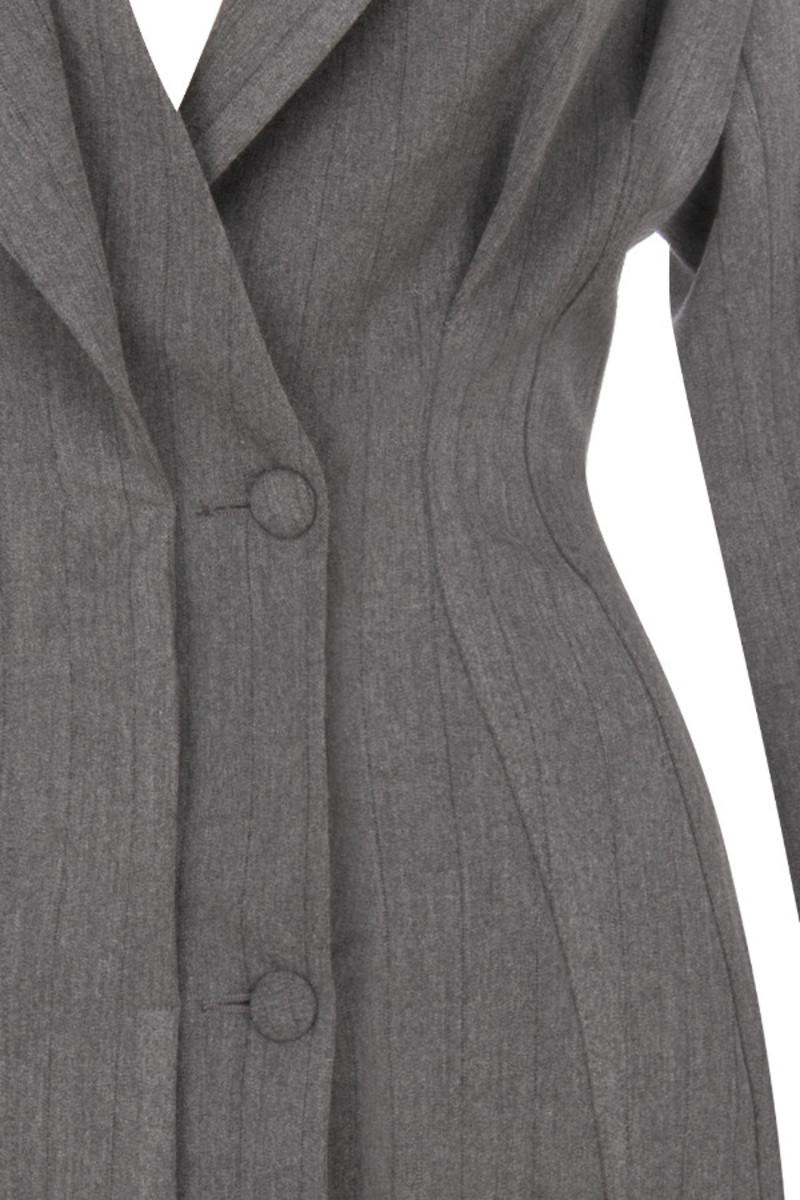 grey wanna dance jacket