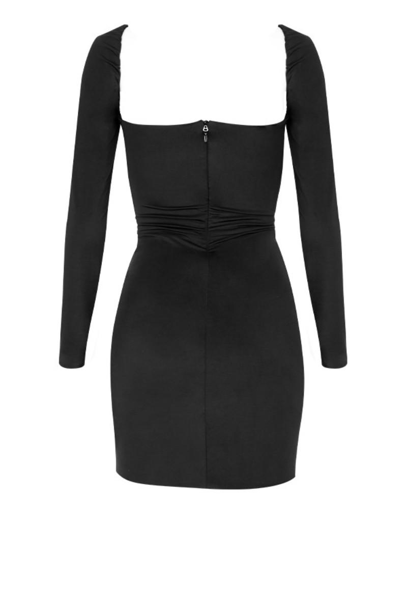 neverland dress in black