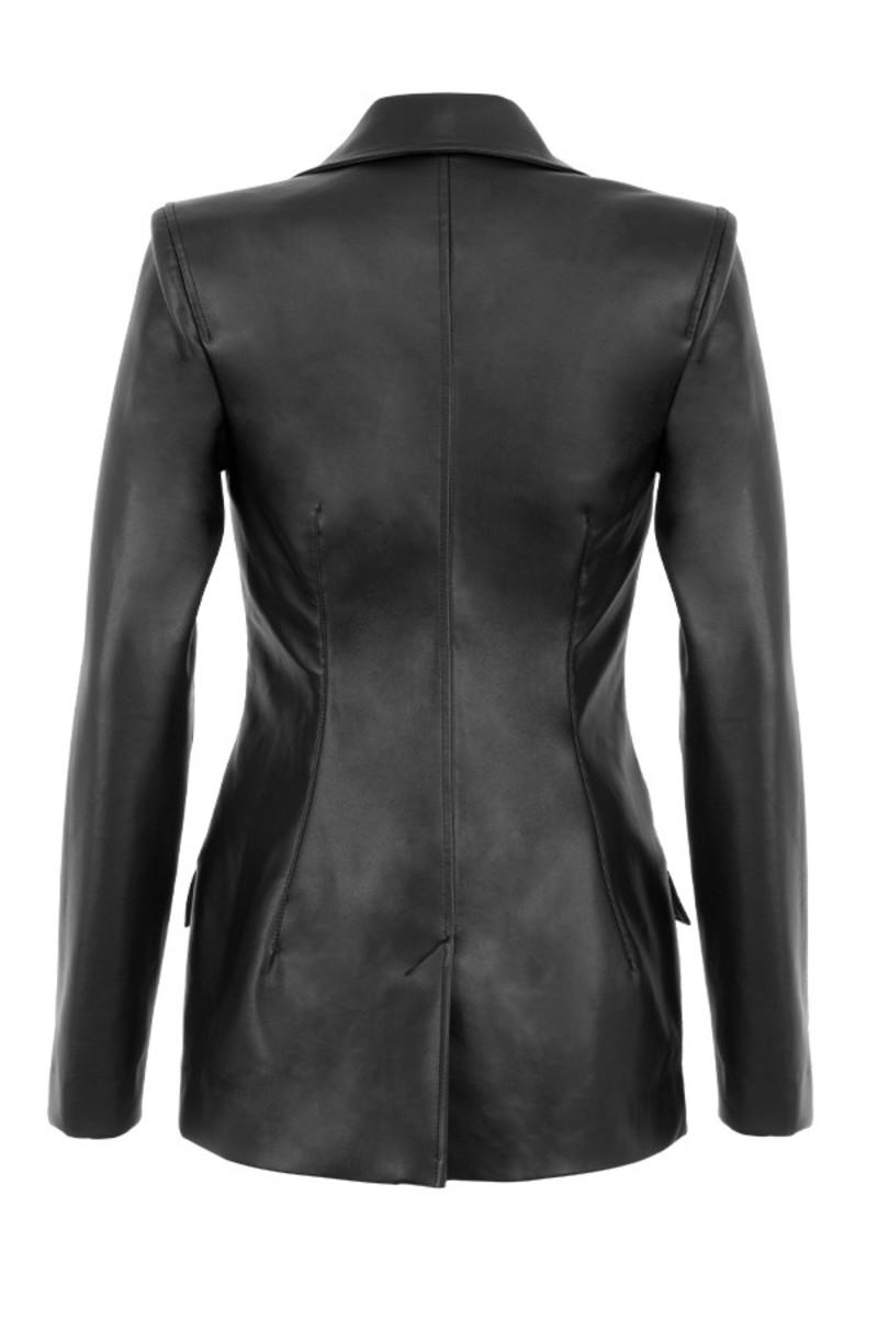 ricochet jacket in black