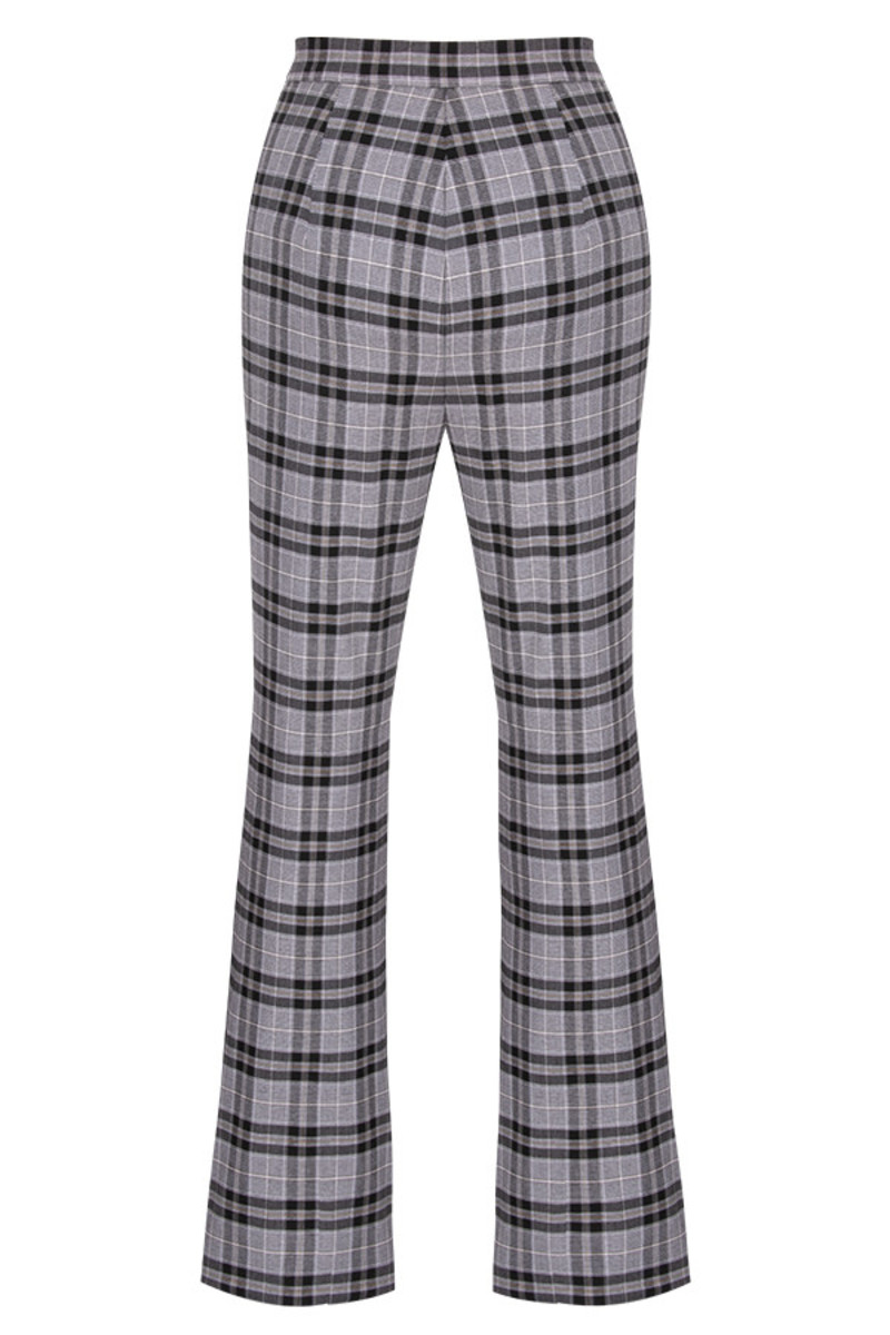 token trousers in print