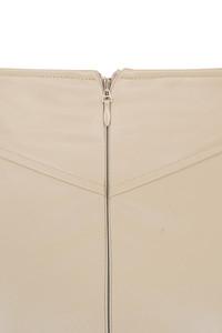 nude purist skirt