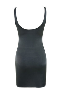revolution dress in dark grey