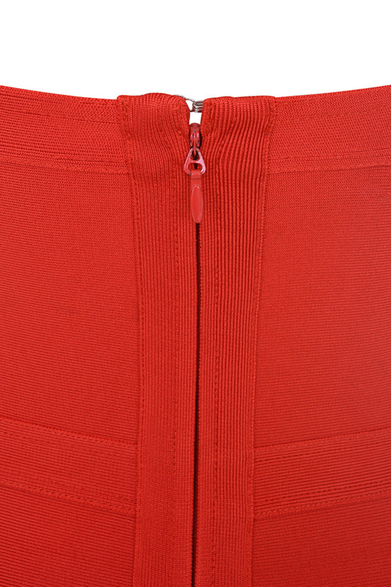 elfin red dress