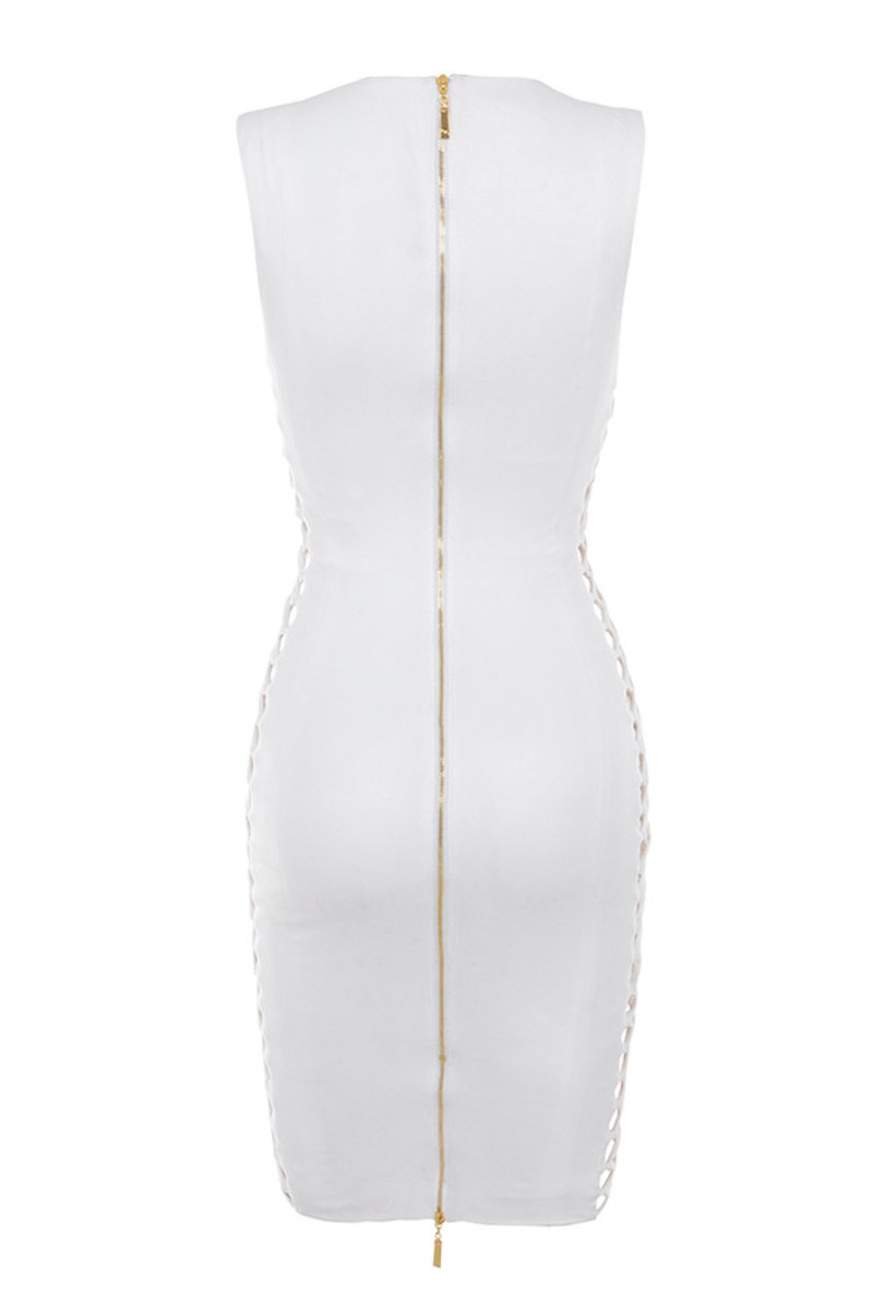 liaison dress in white