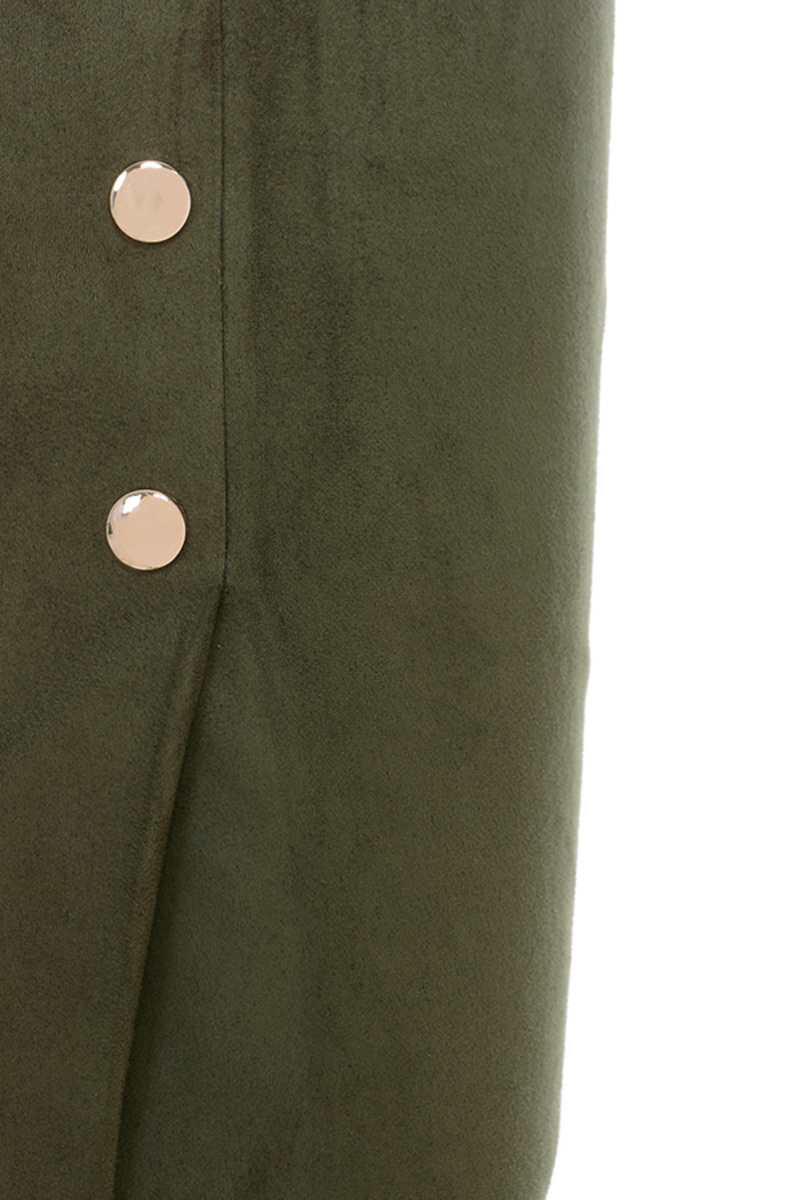 khaki all shook up skirt