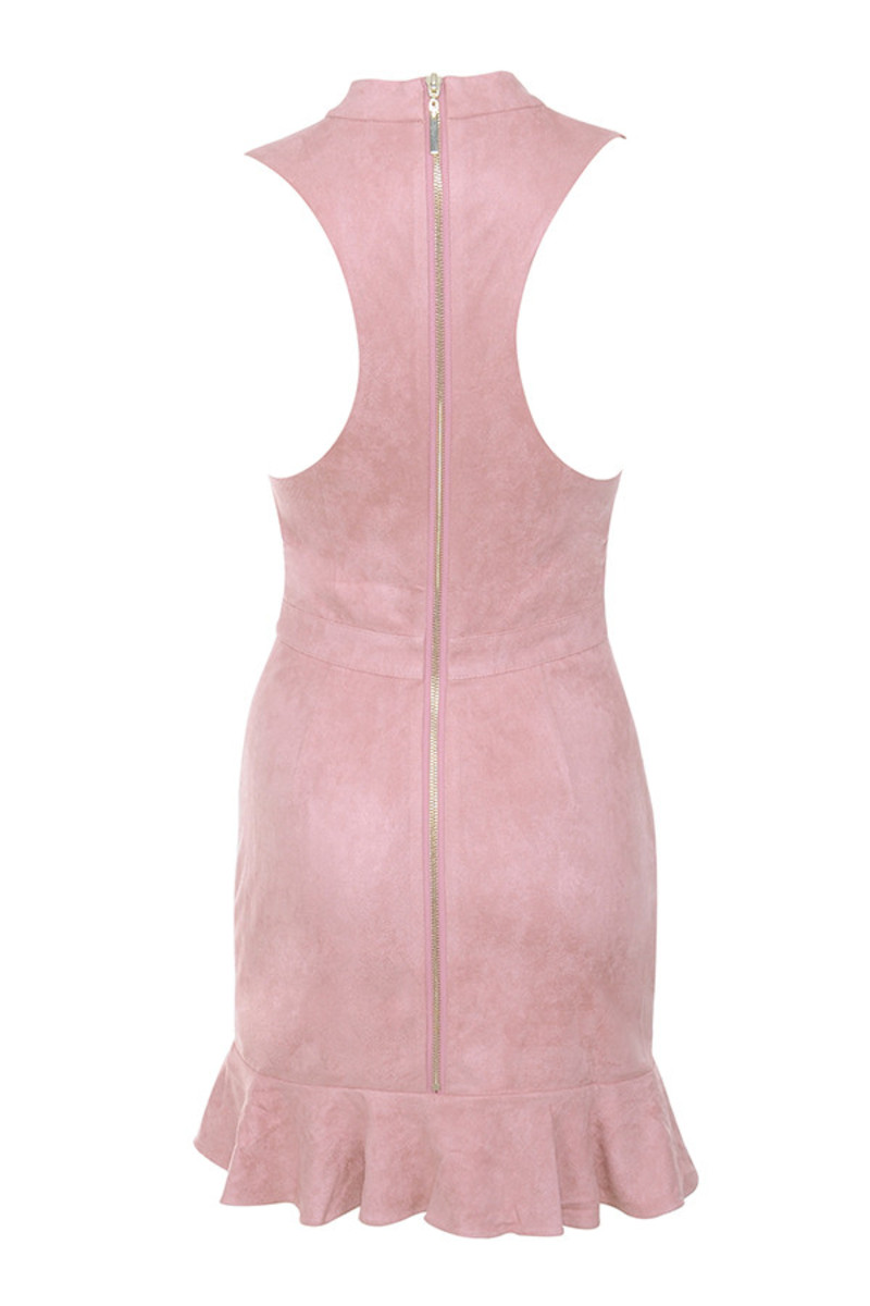 boiling point dress in pink