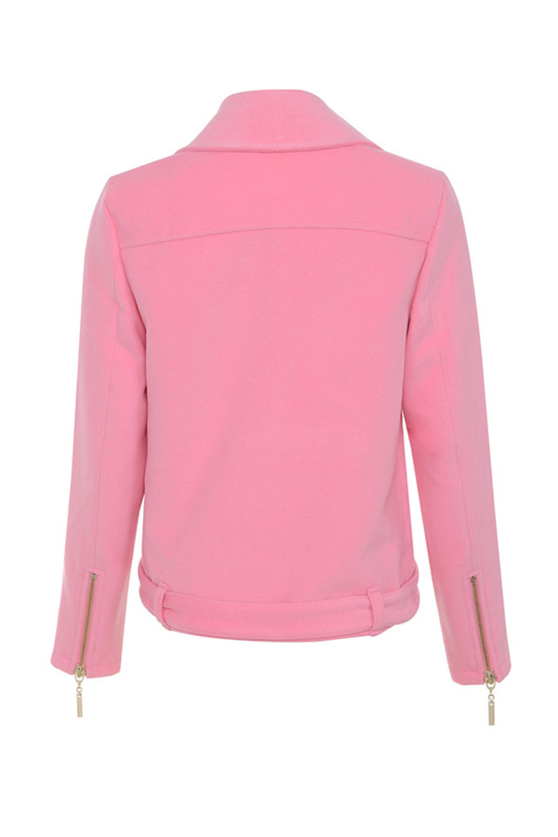 keep up jacket in pink