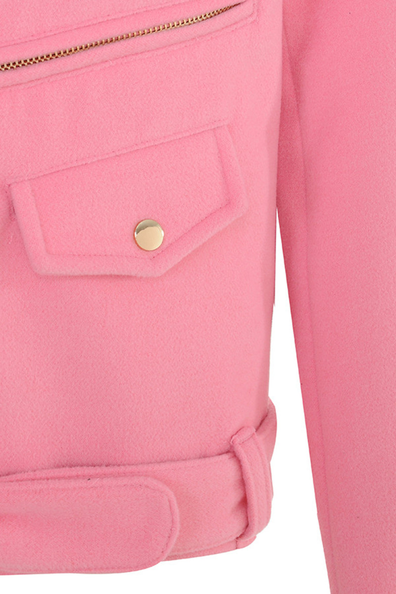 pink keep up jacket