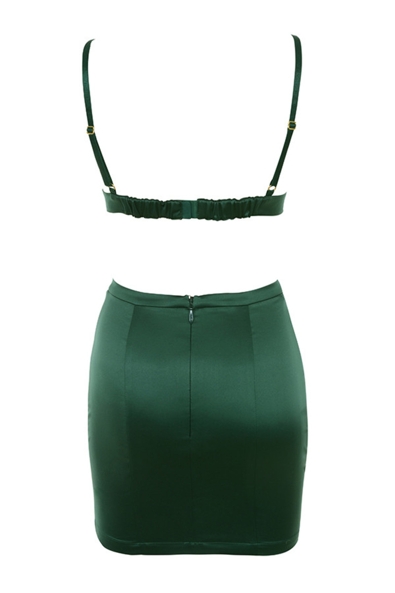 smitten 2 piece in emerald