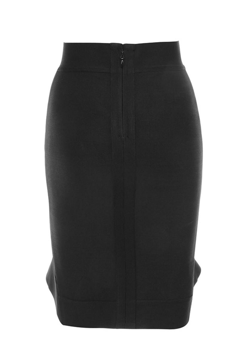 take times skirt in black