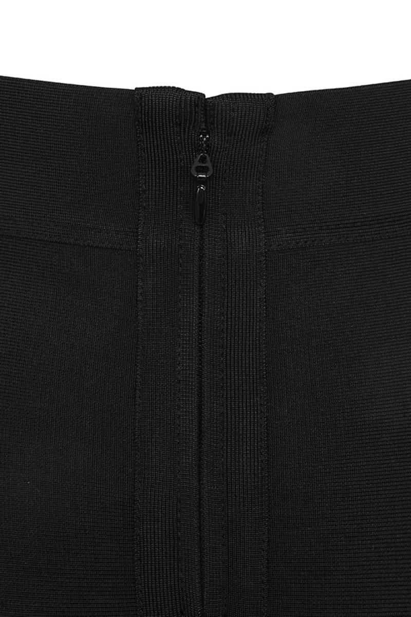 black take time skirt