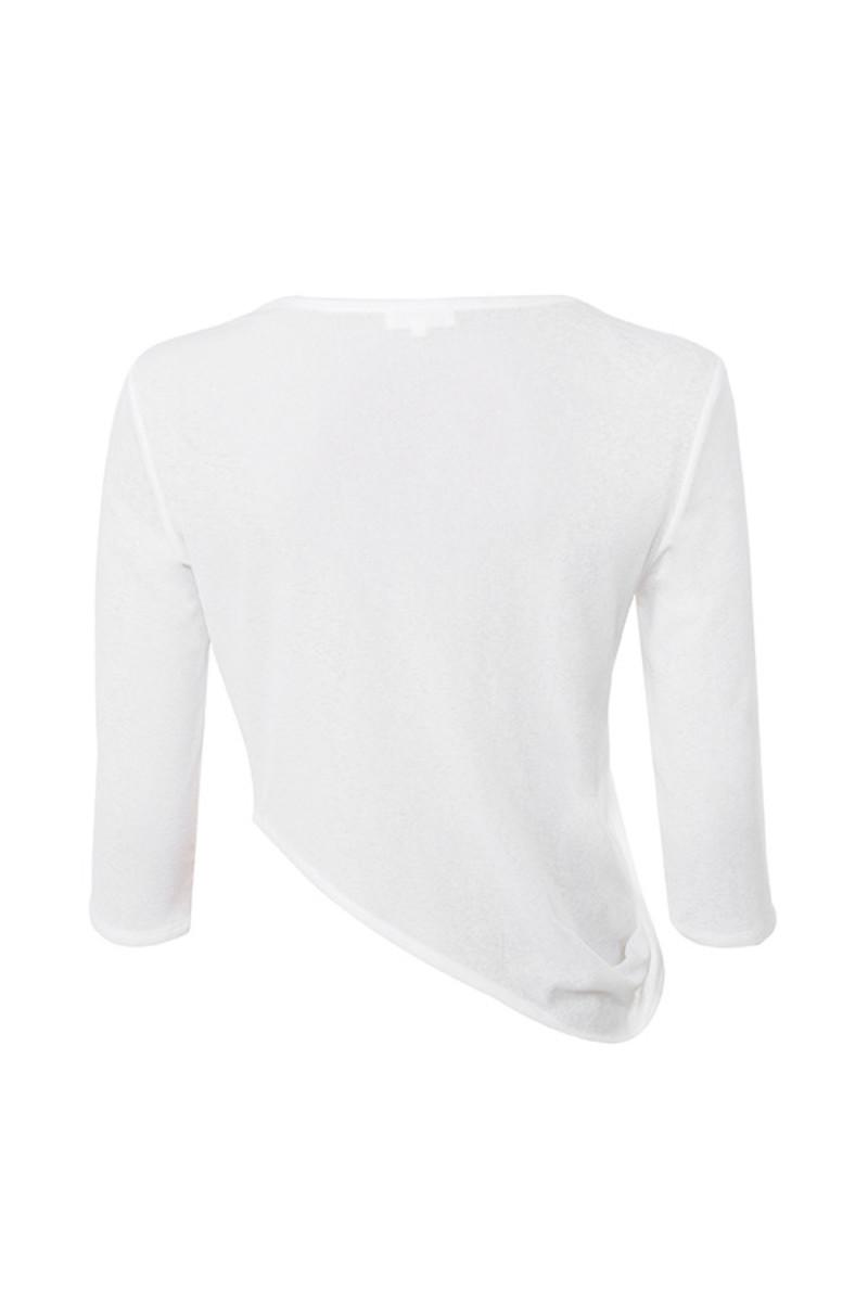 break away top in white