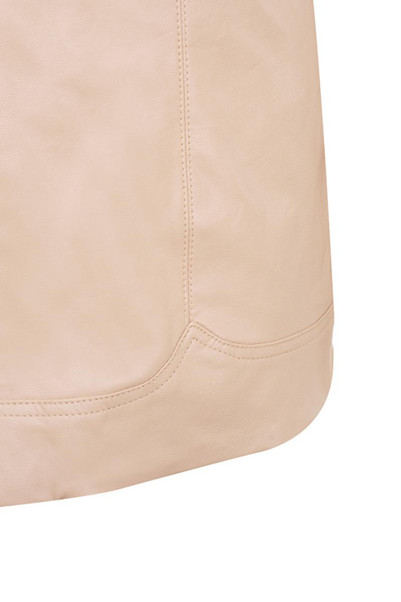 nude cascade jacket