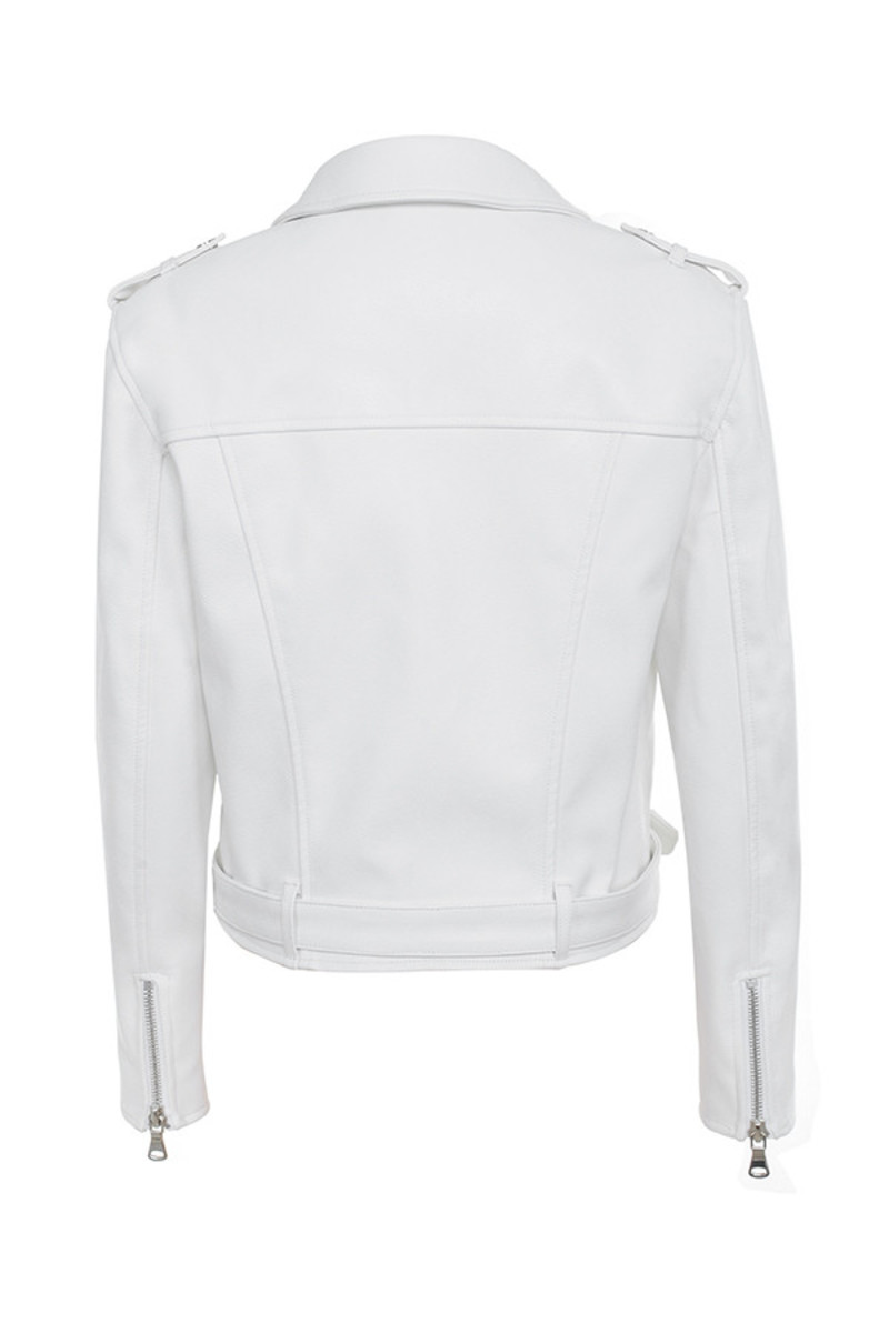 enamoured jacket in white