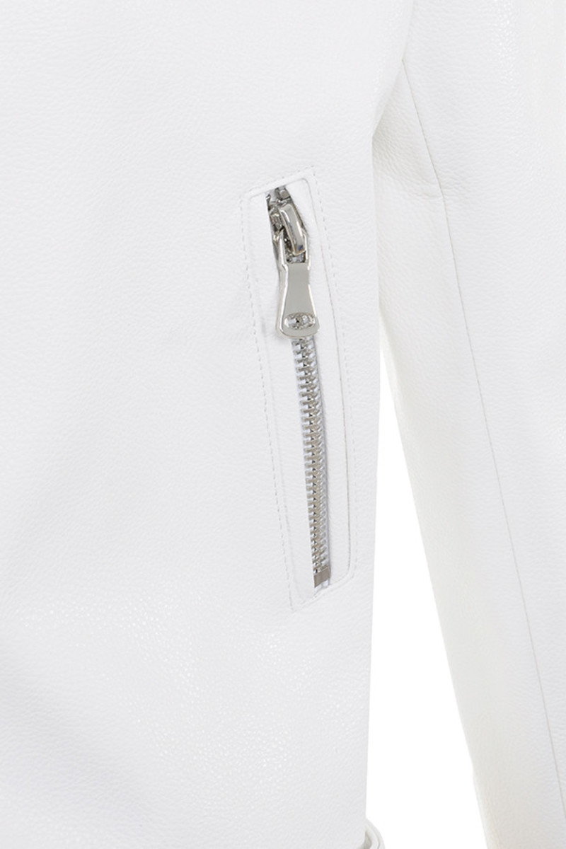 white enamoured jacket