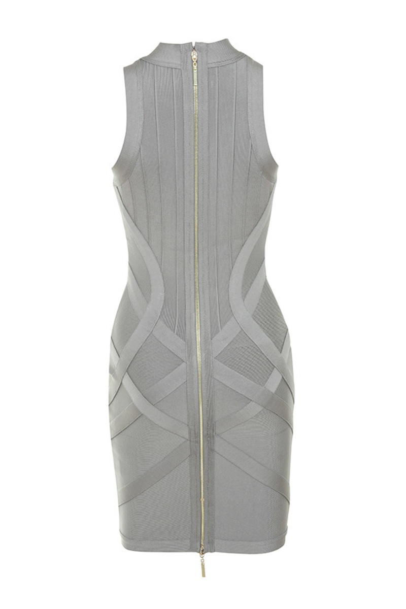 fairy story dress in grey