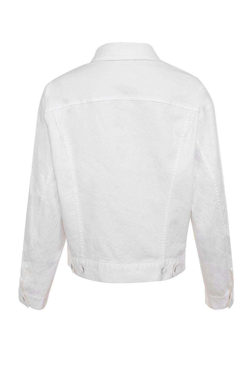 fathom jacket in white