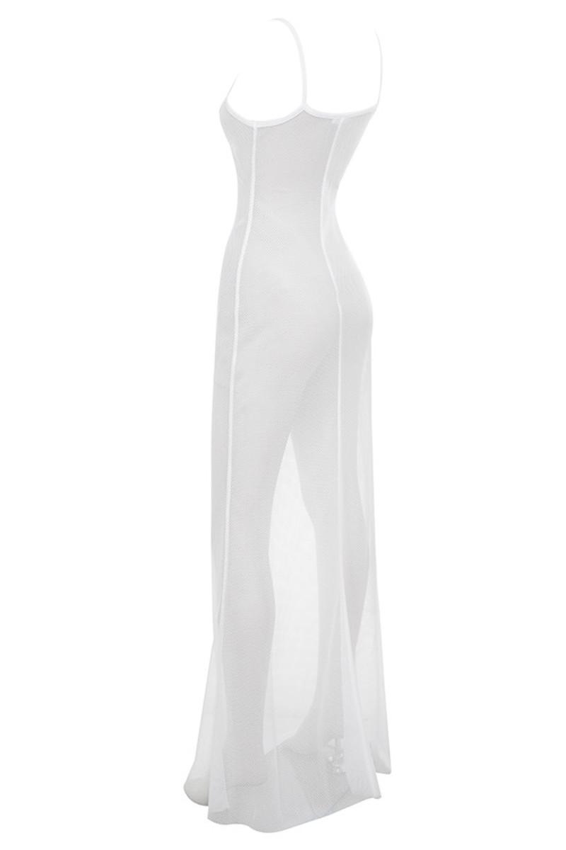 gossamer in white