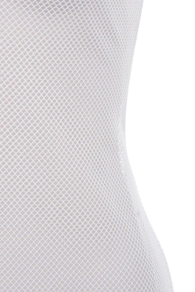 white gossamer maxi