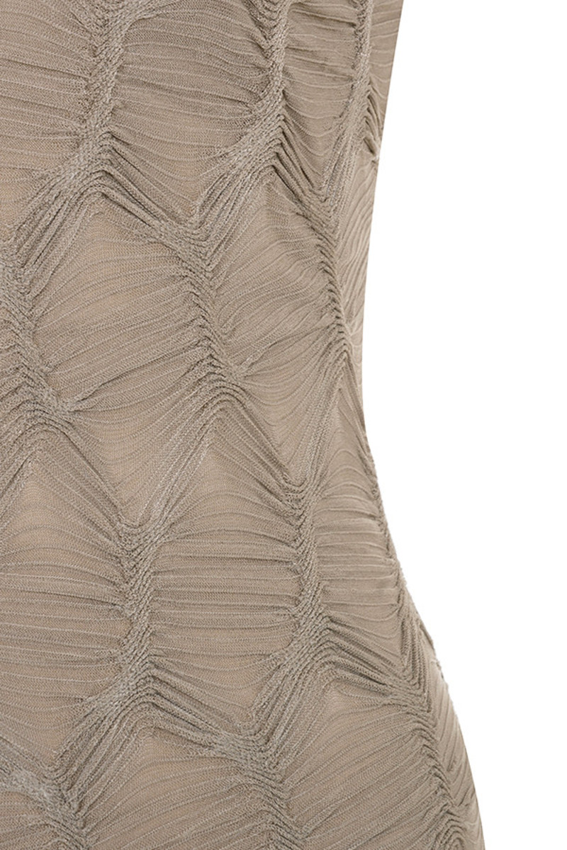 taupe hardwired dress