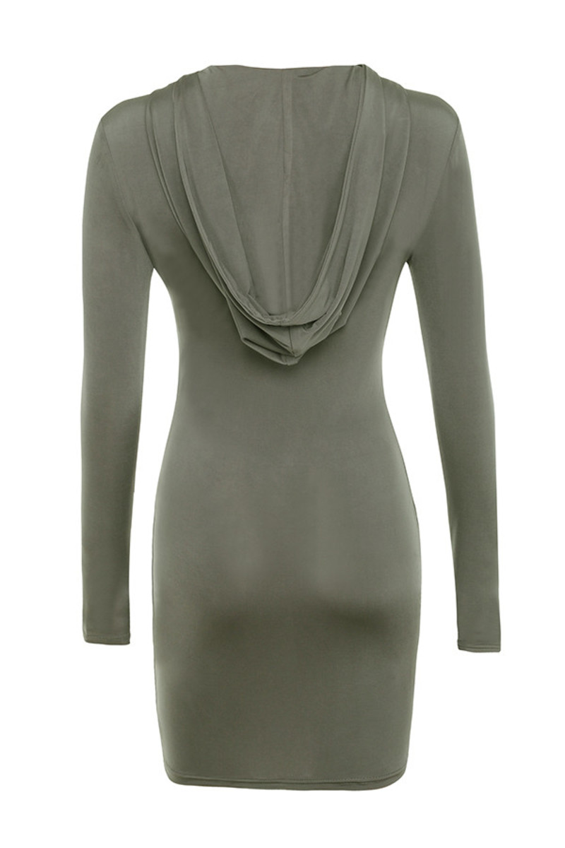 snakes eyes dress in grey