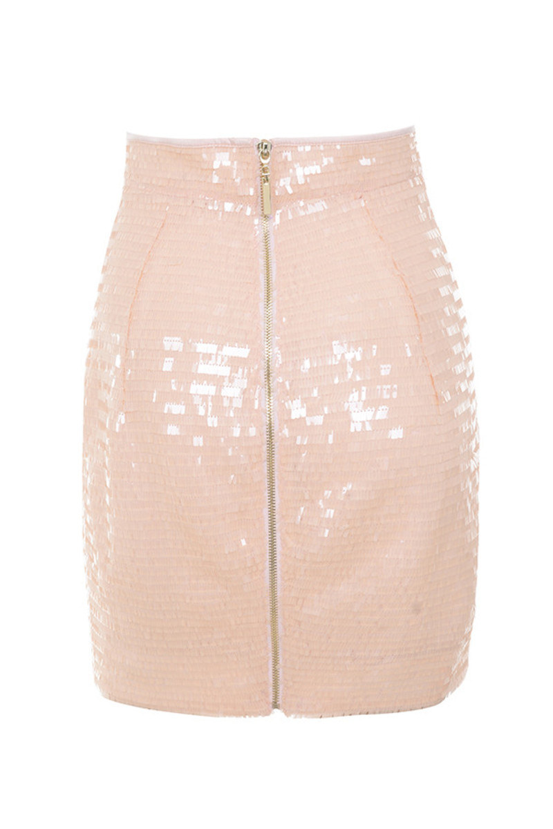 twinkle skirt in peach