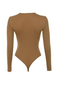 elysium bodysuit  in caramel