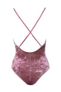 moonlight bodysuit in rose