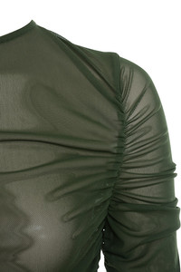 stellar top in khaki
