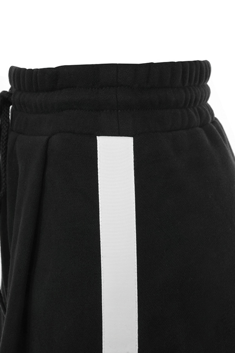 black casino pants