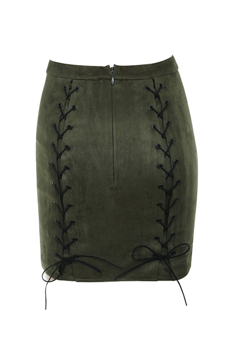 liberty skirt in khaki