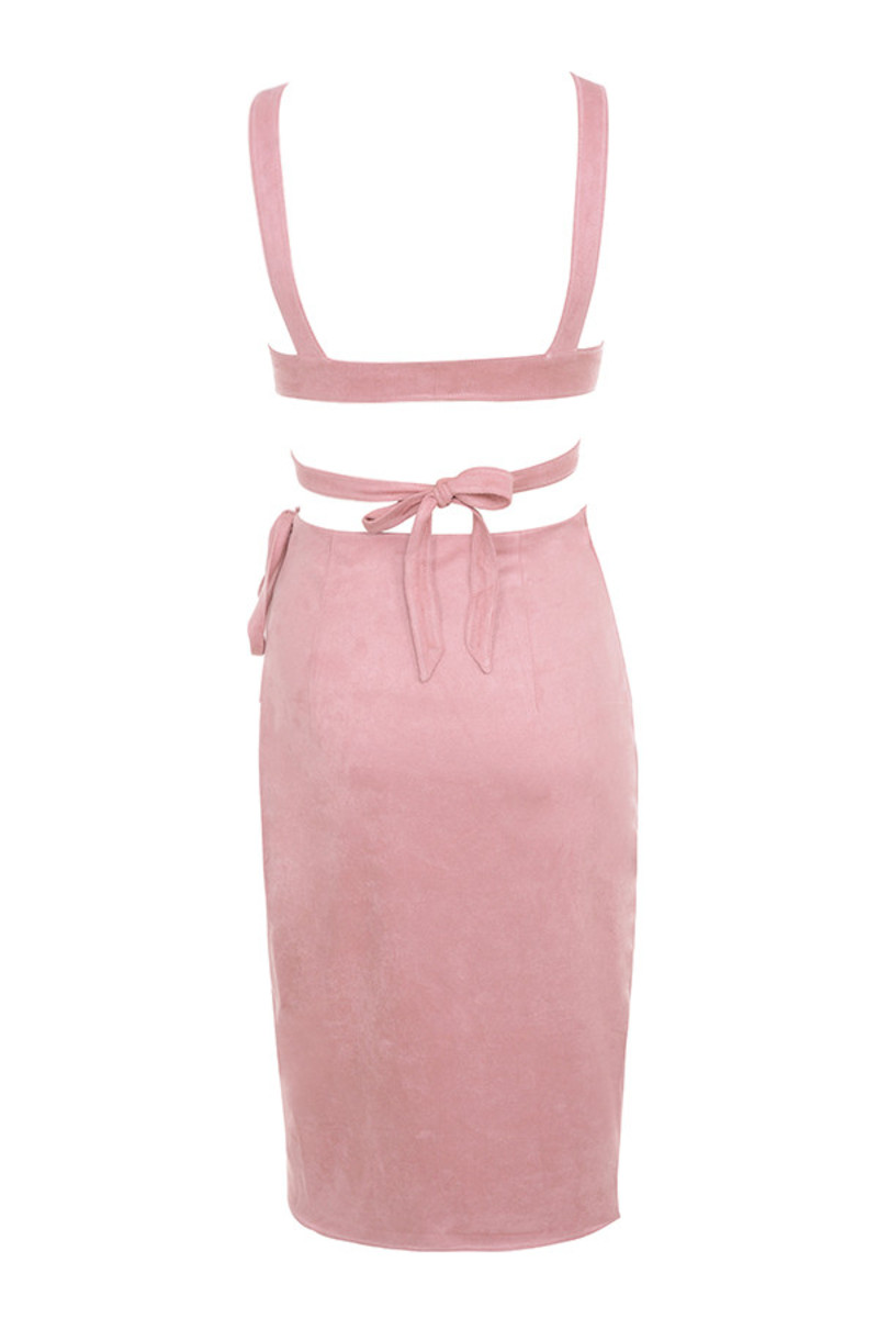 lovesick dress in pink