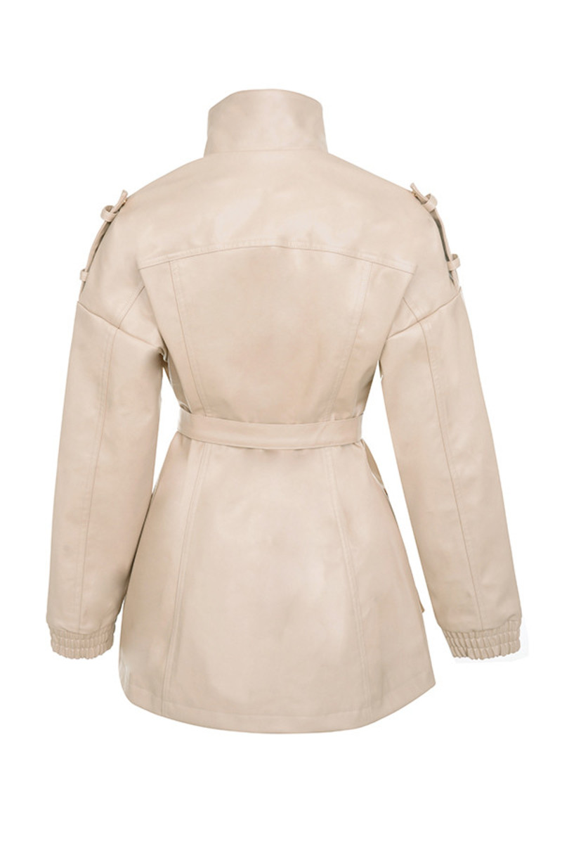 matahari jacket in nude