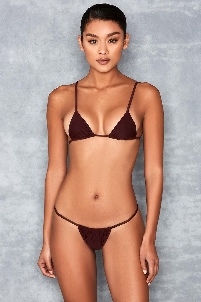 'Next To Nothing' Tawny Micro Bikini