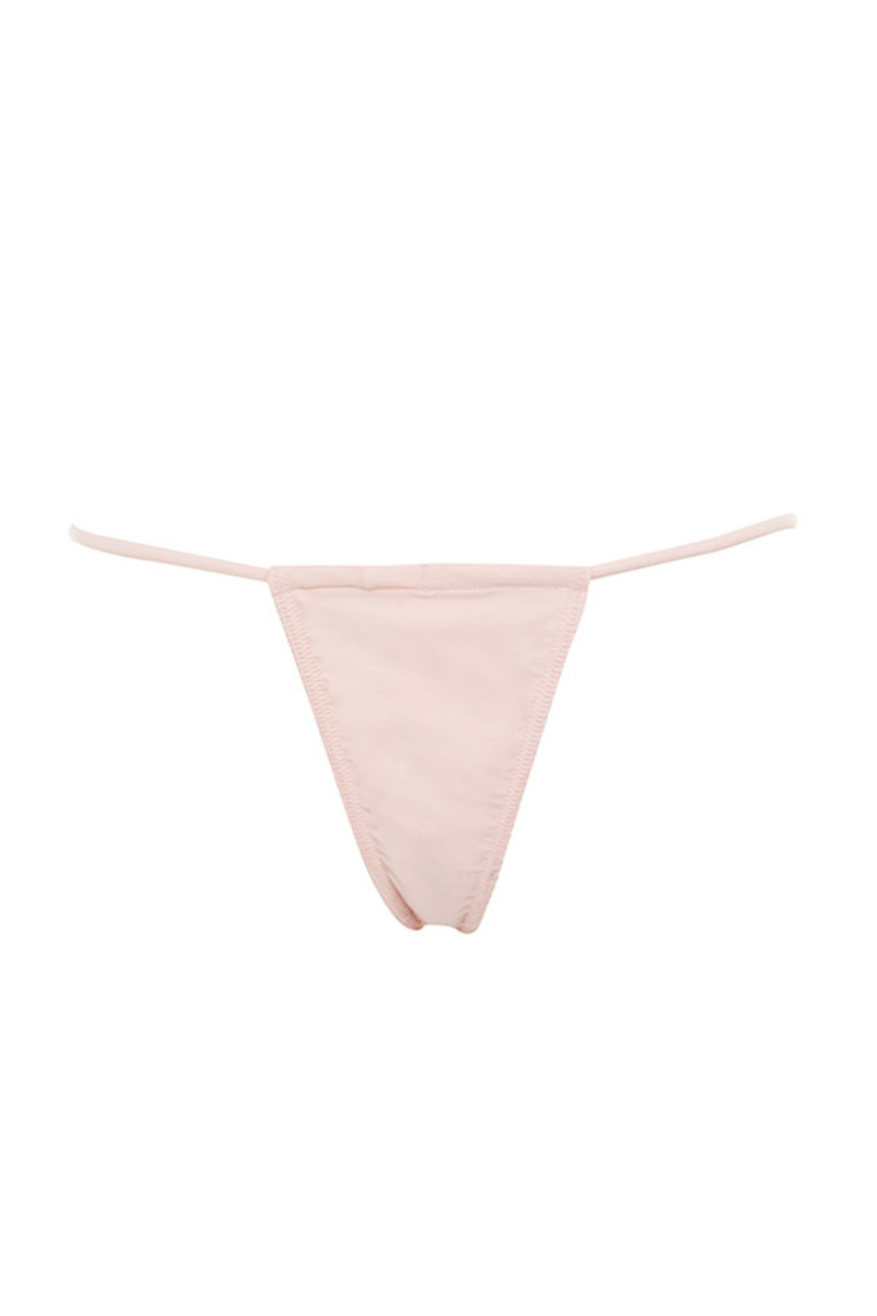 blush next to nothing bikini